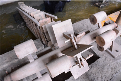 'Dragon Bone' Water Wheel