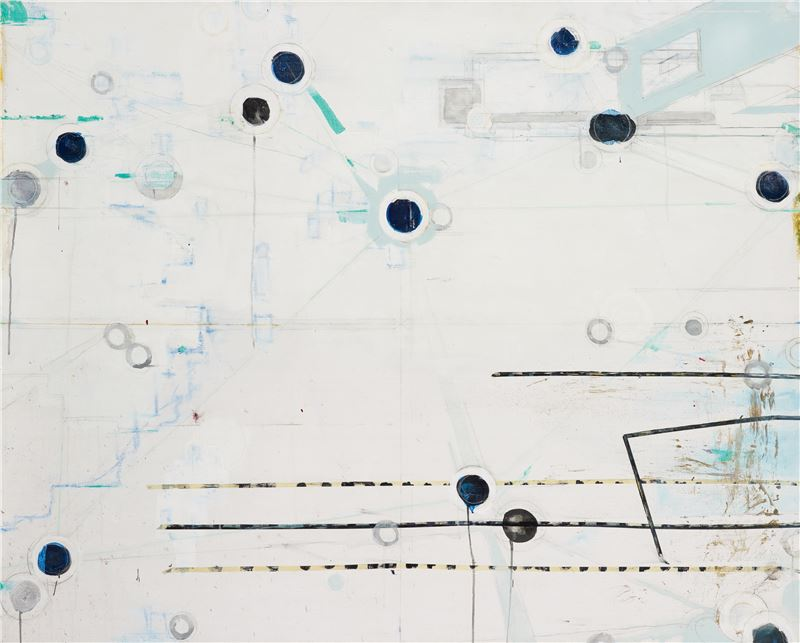 CHEN Chien-Jung〈Landscape 12〉2008 Acrylic on canvas, mixed media 130×162 cm