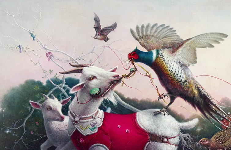 KUO Wei-Kuo〈As the Goat Wishes〉Detail