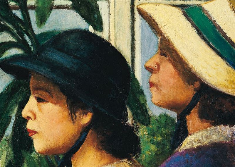 Lee Mei-shu〈In a Greenhouse〉Detail