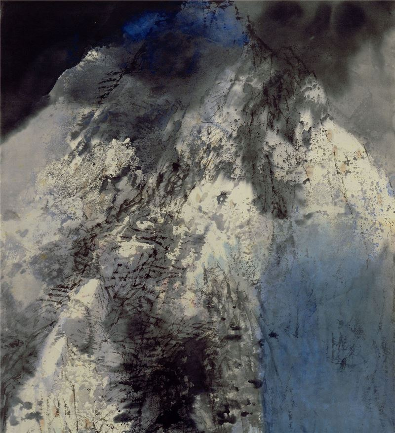 LEE Chung-chung〈Mysteries of the Tienshan Mountain〉Detail