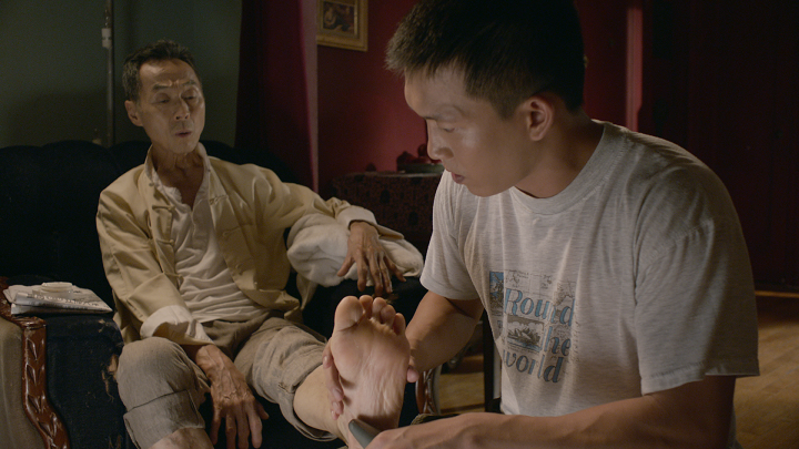 There are glimpses of the sparkling glow typical of TSAI Ming-liang's early movies