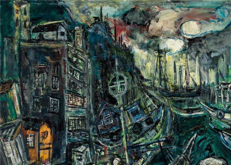 CHEN Lai-hsin〈Wanli Fishing Port〉Detail