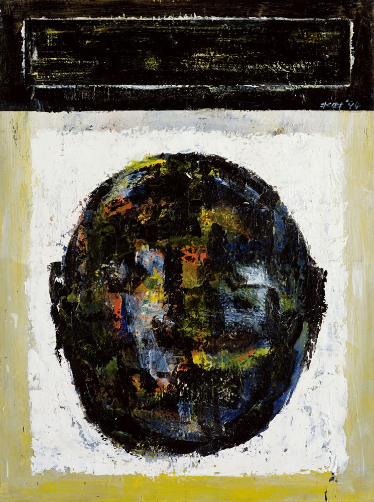 CHEN Shui-tsai〈Human Head 1994-01〉1994 Acrylic , oil on canvas 130×97 cm
