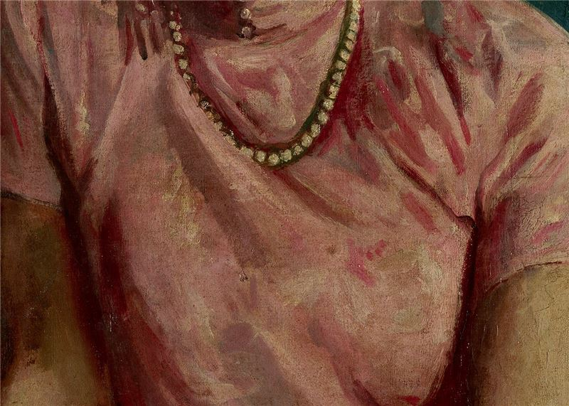 LI Shih-chiao〈Pearl Necklace〉Detail