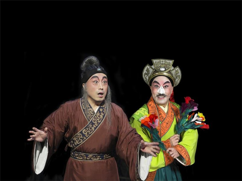 "A scene in "" The Jester ""(2008).( Li Bao-chun as Li Yong-de)"