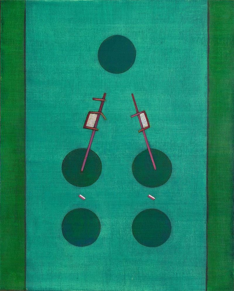 Huo Gang〈Untitled〉2001 Oil on canvas 100×80 cm
