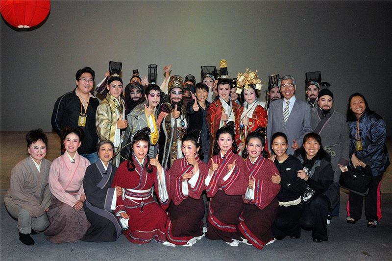 A group picture of the staff of Bond (2009)
