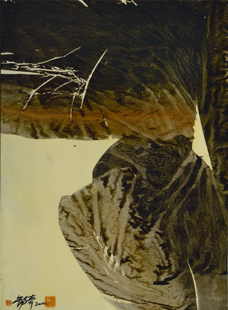 Lee Shi-chi〈Voices of ink 0208〉Detail