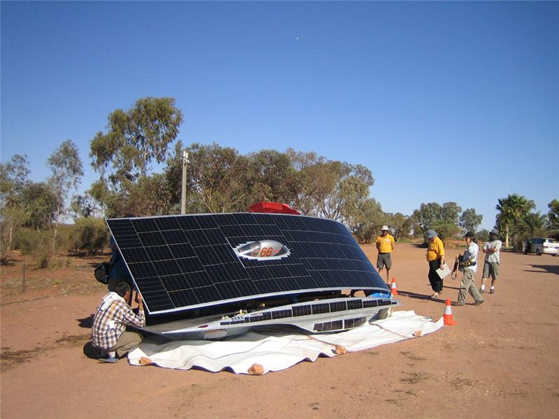 """This film records the process of one particularly fantastic project: Cheng leads a group of students to make a """"solar vehicle,"""" starting with nothing but ideas and dreams."""