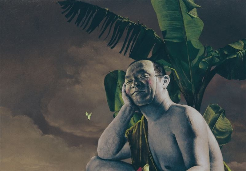 KUO Wei-Kuo〈Under a Banana Tree〉Detail