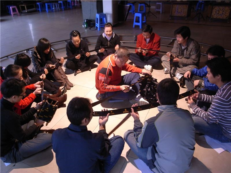 LIN Chiwei〈Shenzhen-Social Measurement through Sound 2009〉2009 Video 15'00""