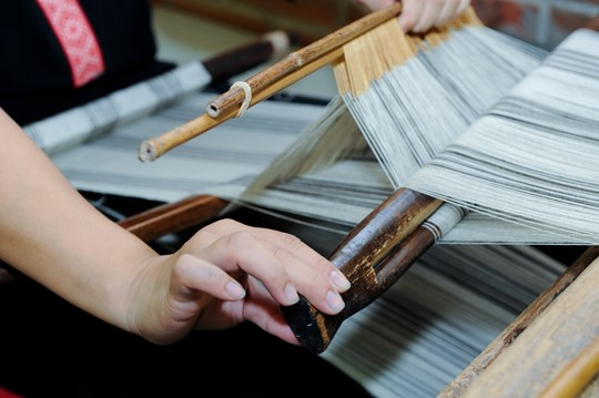 Atayal weaving at the British Library