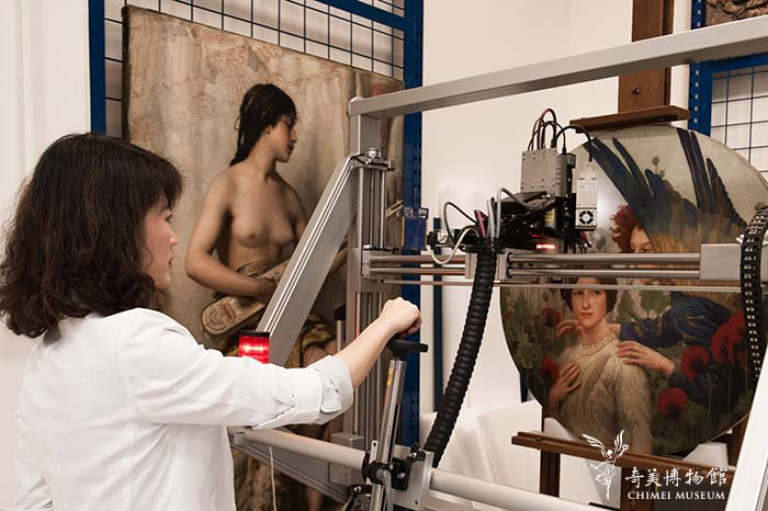Chimei showcases behind-the-scenes of art analysis