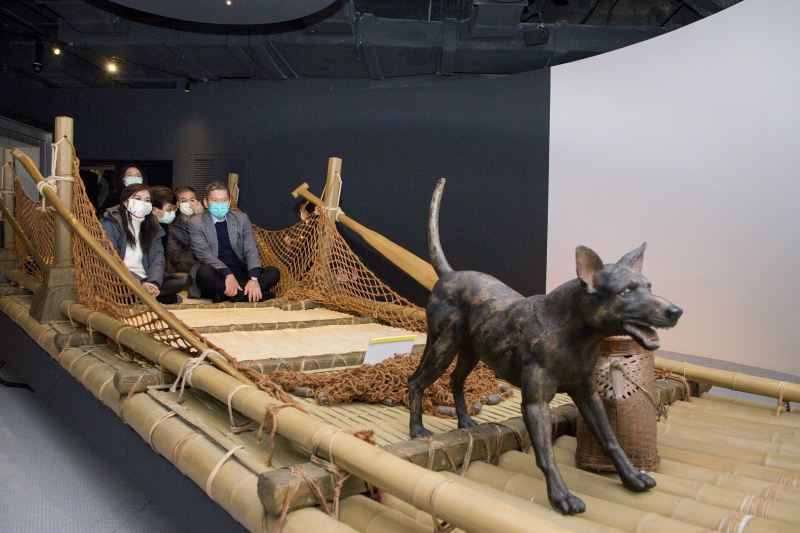 Minister visits museum of prehistory in Tainan