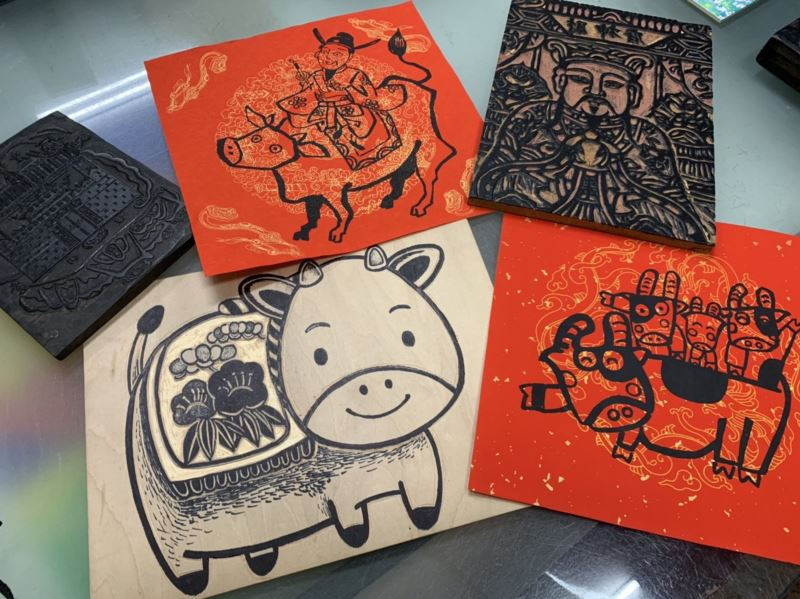 Woodblock print artist vows to keep ancient craft alive