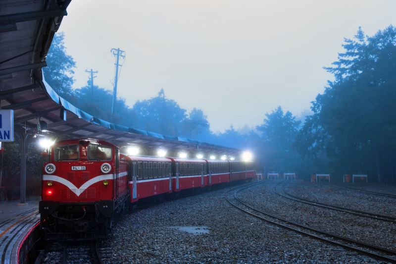 Alishan railway,  Taiwan's first national cultural landscape