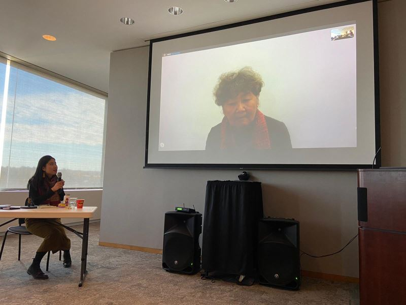 Calligrapher holds talk at Cornell via video