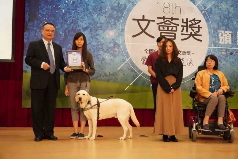 Writers with disabilities honored at Enable Prize