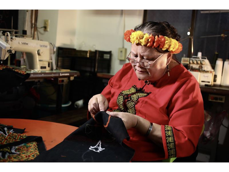 Workshop highlights Rukai tribe embroidery