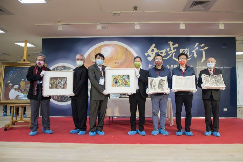 Unboxing ceremony for Hung Rui-lin