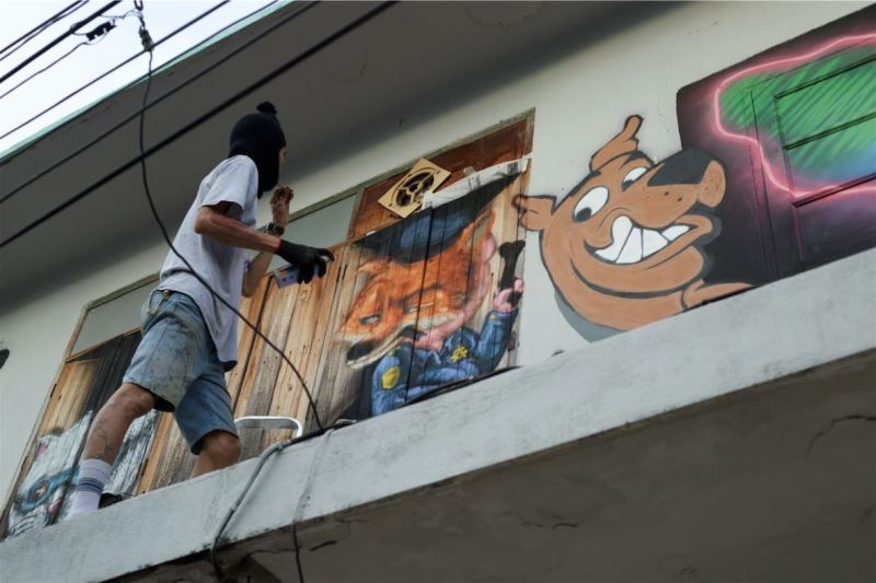 Collaborative art projects in Bangkok