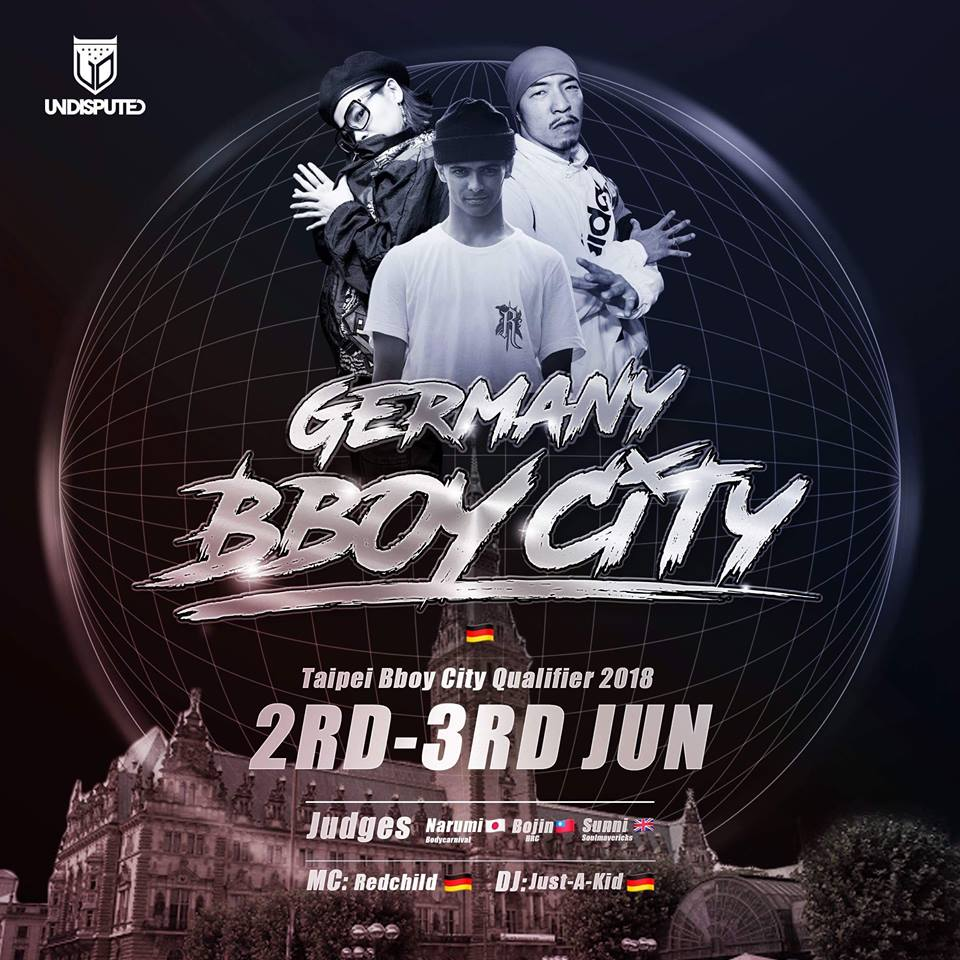 Smash Up 2018: Hamburg to hold Taipei Bboy City qualifier