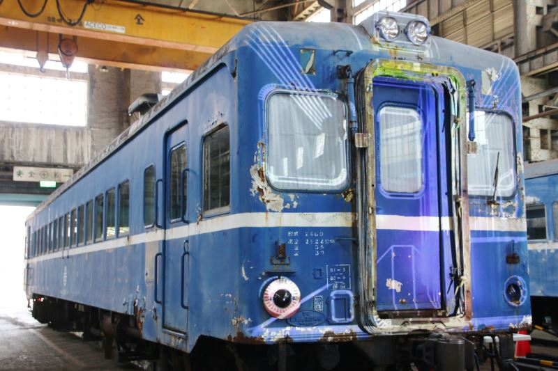 Diesel railcars transferred to Taipei depot for preservation