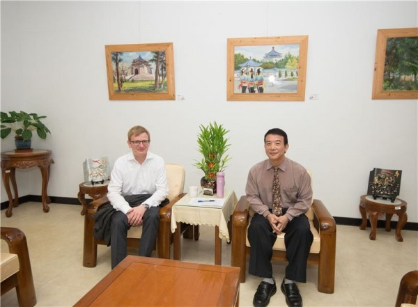 German lawmaker conducts transitional justice tour of Taiwan