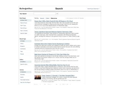 New York Times Archive 1851- 1980