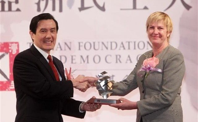The 2012 Asia Democracy and Human Rights Award in Taipei