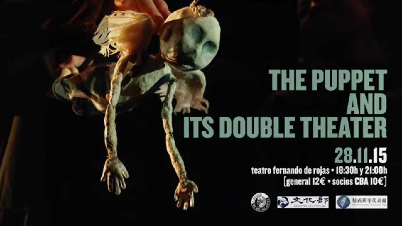 The puppet and its double theater en el CBA Madrid