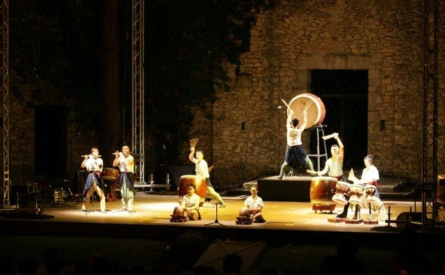 Taiwan's Ten Drum performs in France