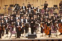 陳美安2017年指揮國立臺灣交響樂團於屏東演藝廳演出