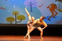 極至體能舞蹈團於【2018 NTSO X 屯區 國際藝術節】記者會帶來精采的演出