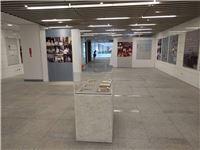5展覽透過圖片與仿真文物,介紹楊逵一生堅持理念,不屈服的棈神。