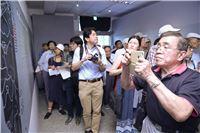政治受難者及媒體朋友參訪臺灣監獄島不義遺址特展
