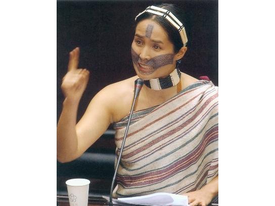 女性原住民參政人物─高金素梅(1965-)