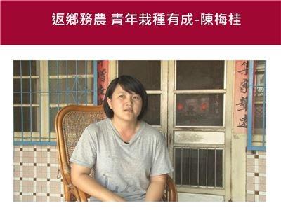 返鄉務農 青年栽種有成-陳梅桂