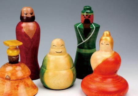 變出台灣意象文化工藝木偶