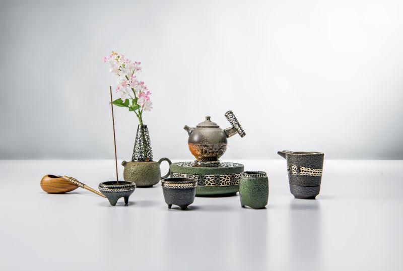 鏤鑲茶器-茶情花語