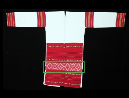 泰雅族南投地區馬力巴群-紋飾048