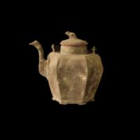 瓜形六角酒壺