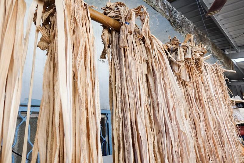 漂泊一世紀的民族用它接起斷裂的歷史-全臺唯一香蕉絲工藝復育