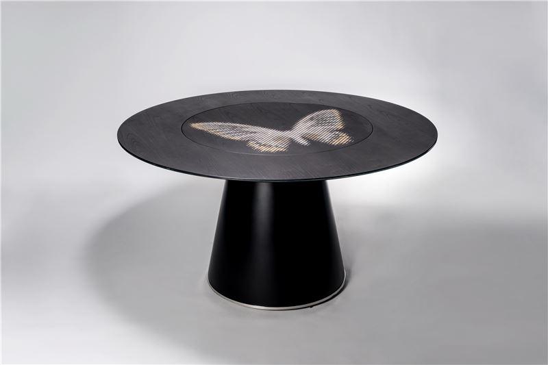 1453  一世華衫  螺鈿餐桌