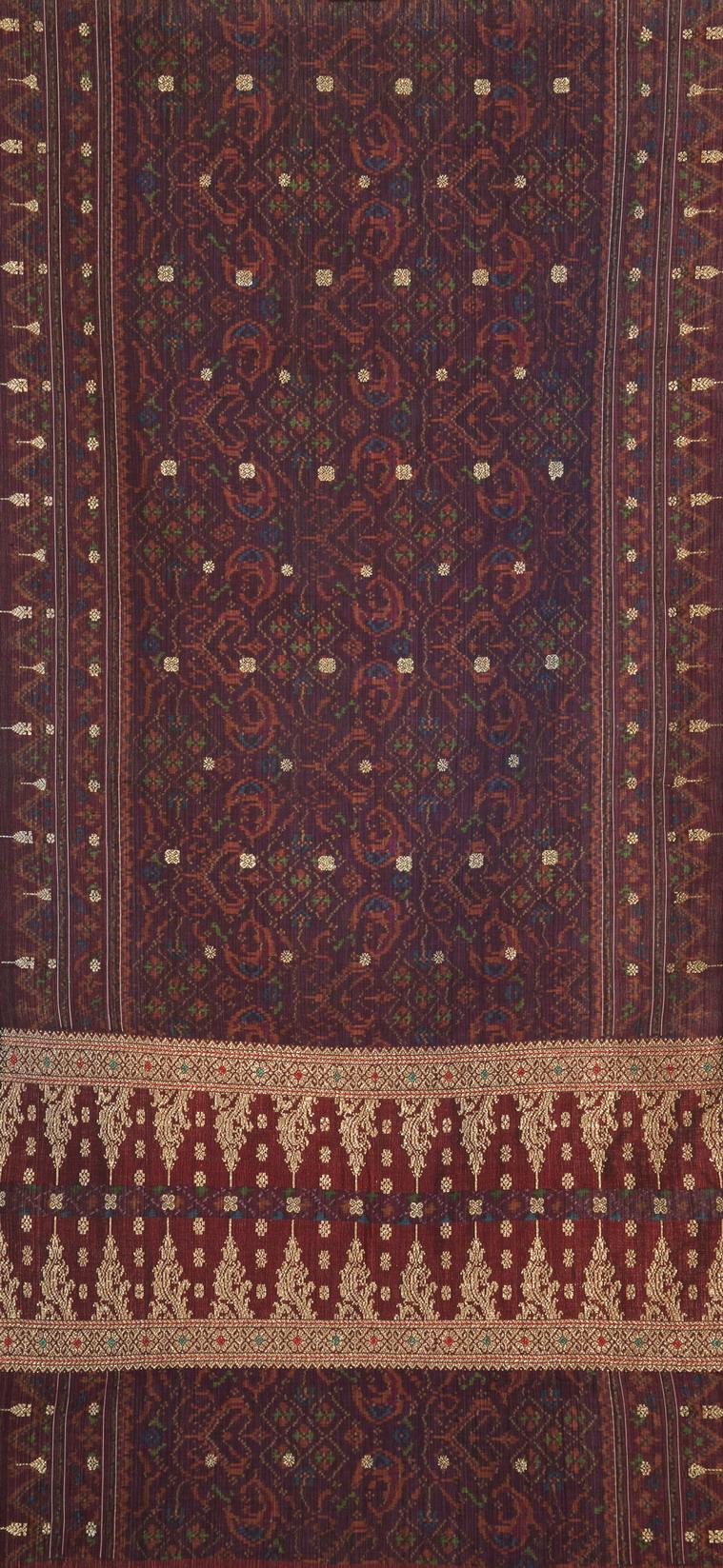 06 印尼蘇門答臘傳統Kain Limar織錦(Kain limar songket, Sumatra, INDONESIA)