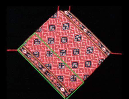 泰雅族南投地區馬力巴群-紋飾92