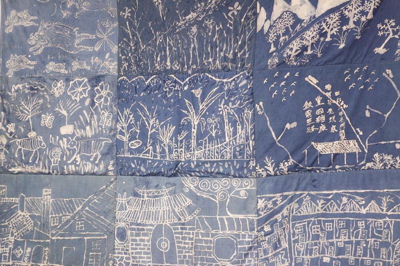 以染繪為筆記憶耆老的故事-用染布工藝紀錄在地
