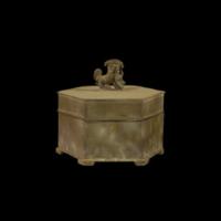 六角素面粉盒