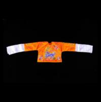 黃地麒麟神明衣